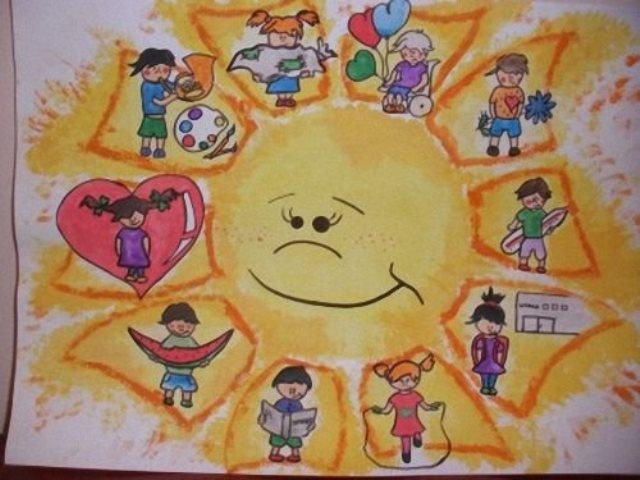 Рисунки на конкурс право человека
